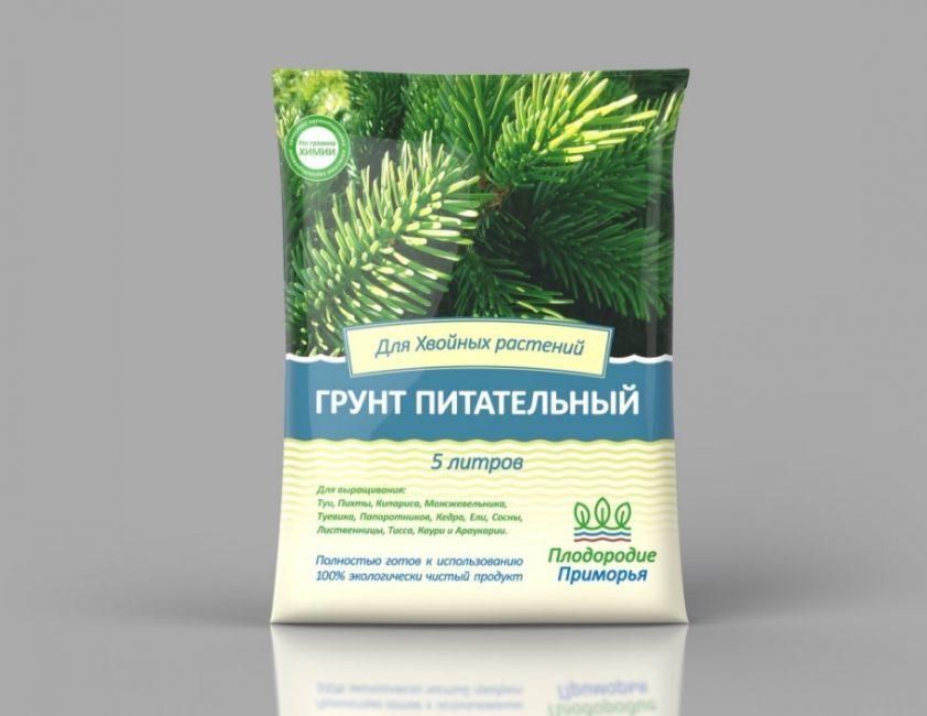Вместо удобрения высаживайте деревца в специальном грунте